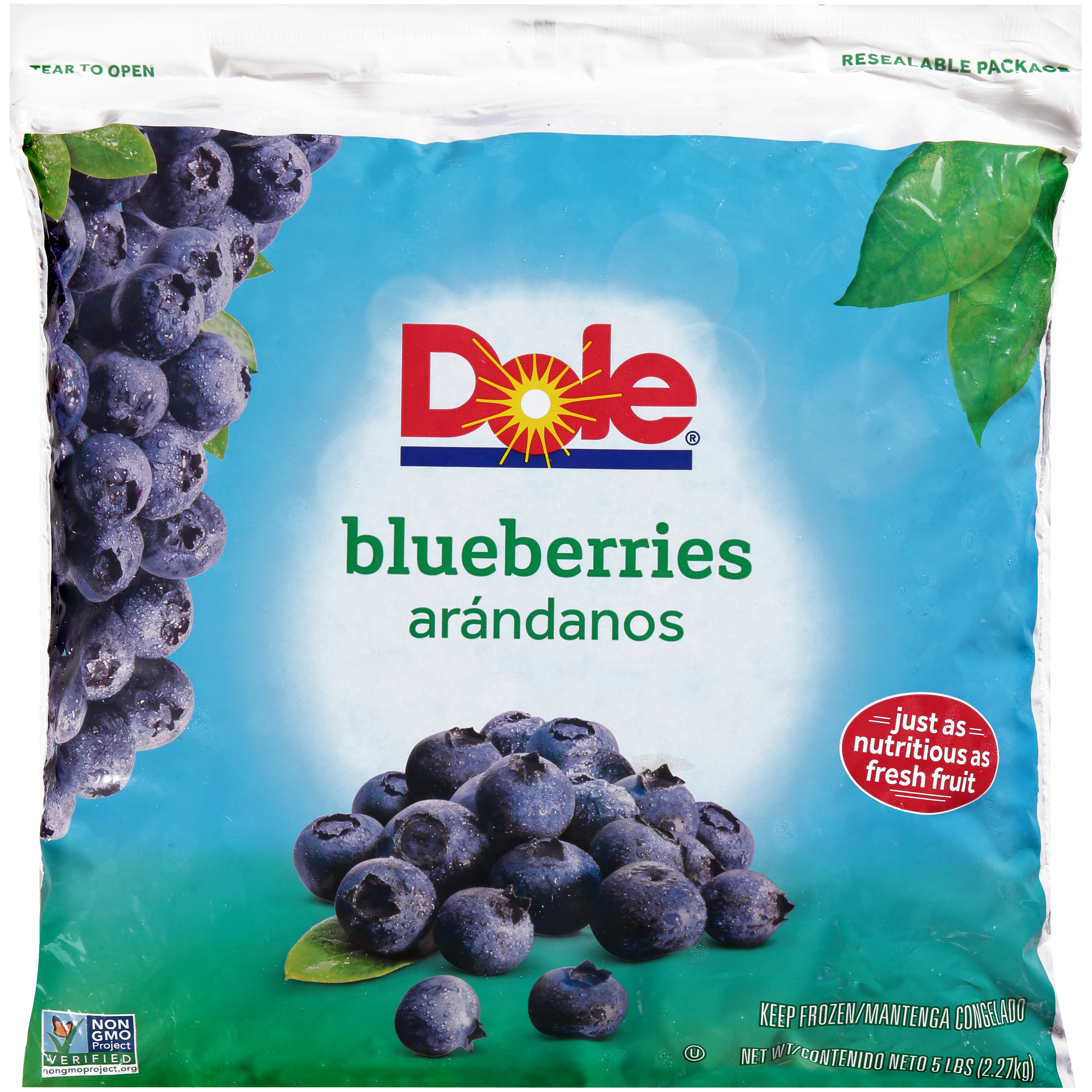 2/5# Blueberries, Whole IQF