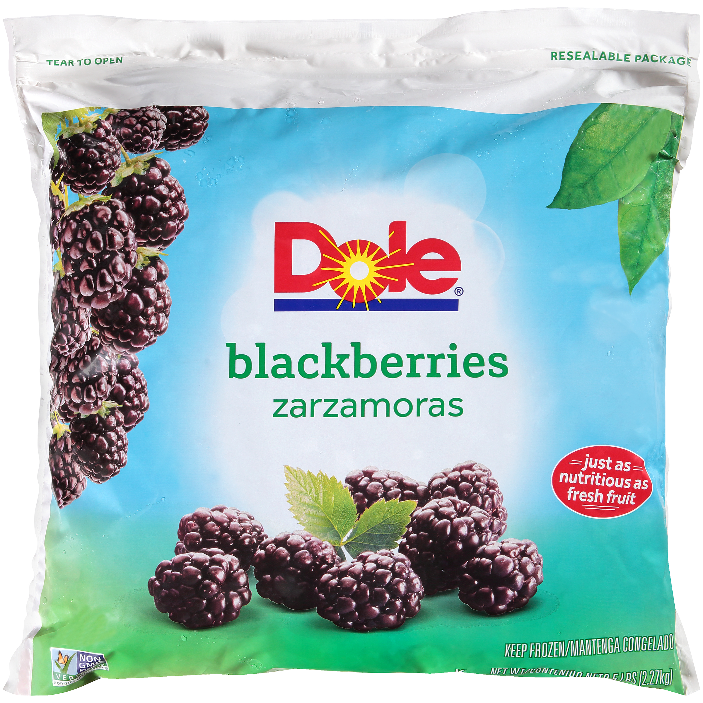 2/5# Blackberries, Whole IQF