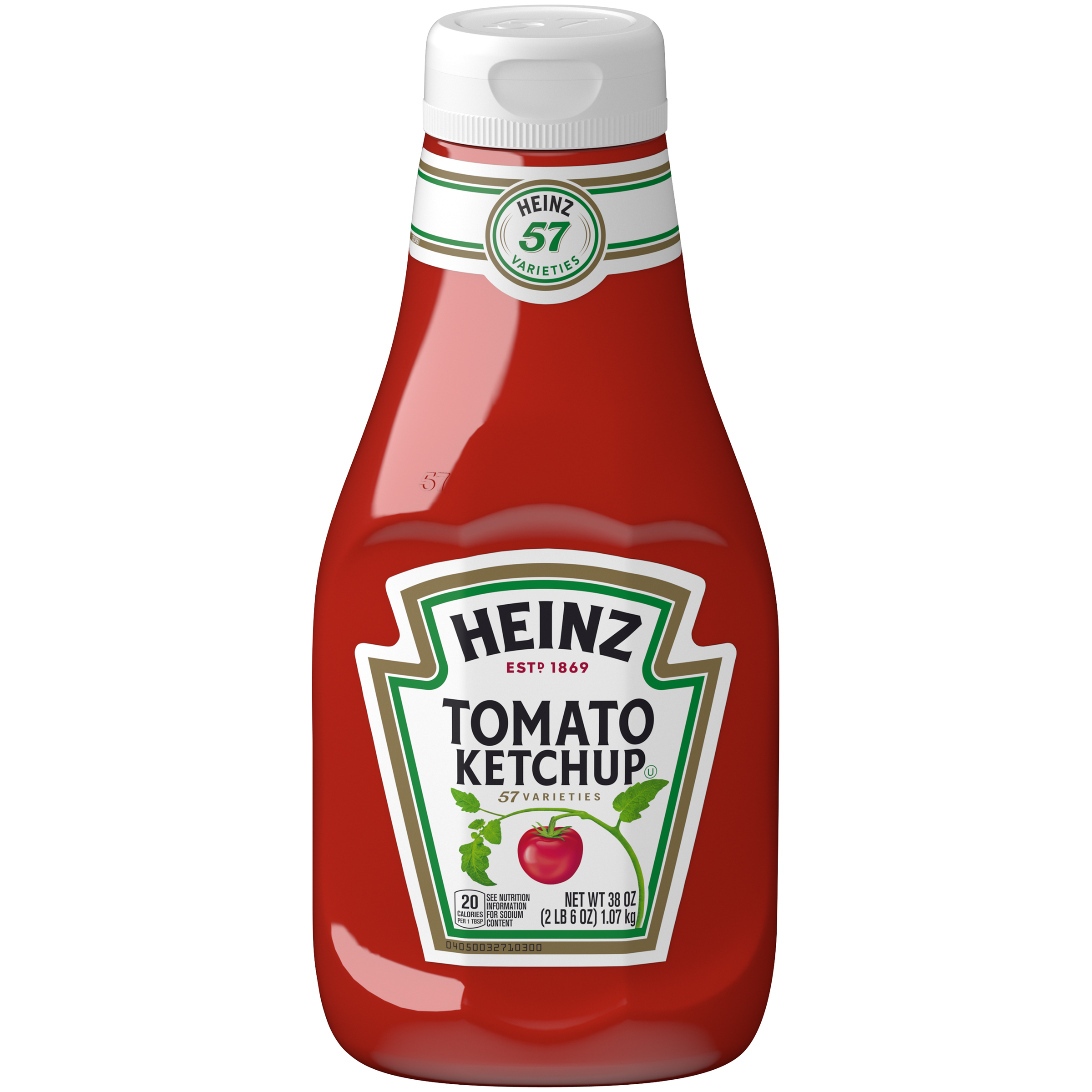 Heinz Tomato Ketchup 38 oz. Bottle image
