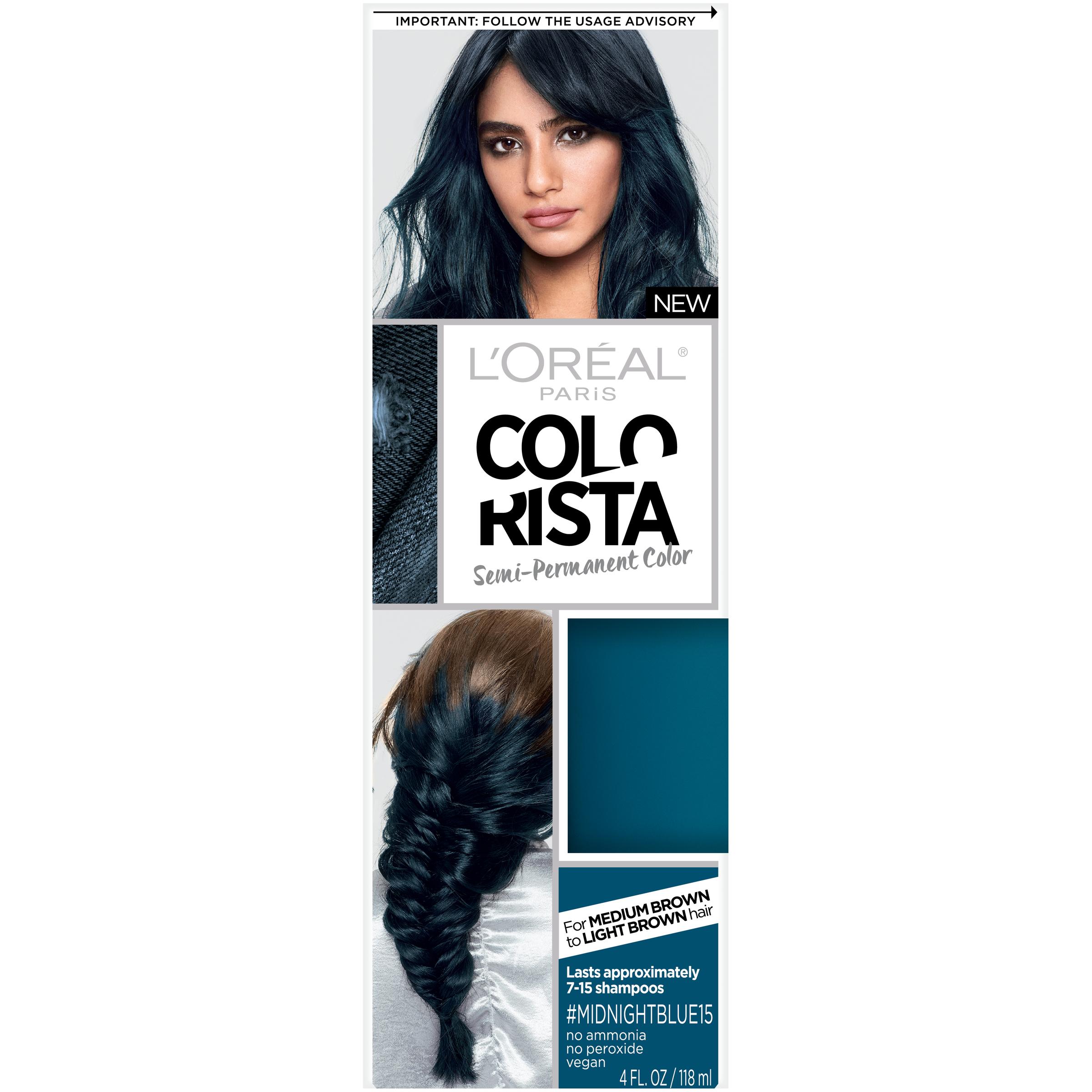 Loreal Paris Colorista Semi Permanent Hair Color For Brunettes Ebay